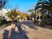 Santa Eularia Plaza Walkway