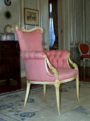 Antique Pink Chair