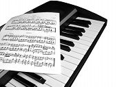 Piano Music With Notes