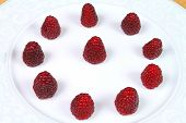 Raspberries Composition