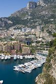 Fontvieille, new district of Monaco,