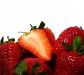 Strawberries Background #2
