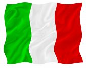 stock photo of italian flag  - Italian italian flag country flags colorful flags - JPG