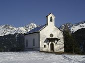 Chapel In Serfaus, Austria