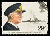 British Naval History Postage Stamps