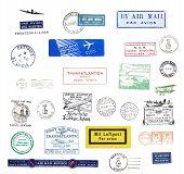 Vintage Postmarks