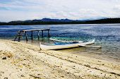 stock photo of surigao  - A Beach in Surigao del Norte Philippines - JPG