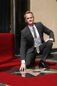 LOS ANGELES, CA - SEPTEMBER 15: Neil Patrick Harris at a ceremony where Neil Patrick Harris receives a star on the Hollywood Walk of Fame on September 15, 2011 in Los Angeles, California