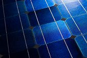 Solar cells pattern background texture
