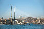 bridge through Zolotoy Rog bay