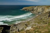 Treknow beach near Tintagel, Cornwall