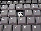 Broken button on keyboard
