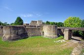 stock photo of suceava  - Ancient fortress of Suceava in Moldavia - JPG