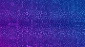 Binary Code Background. Digital Binary Data And Streaming Digital Code Background. Abstract Futurist poster