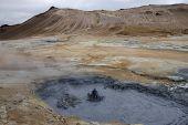 Volcanic Landscape In Iceland