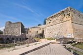 The Aragonese Castle of Otranto. Puglia. Italy.