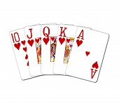 Royalflush  Hearts