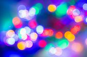 Led Lights Background. Bokeh Background. Led Bokeh Background. Abstract Background For Web Template. poster