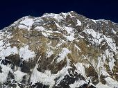 foto of firn  - South Face of Mount Annapurna - JPG