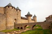 Medieval Castle Of Carcassonne