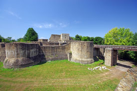 picture of suceava  - Ancient fortress of Suceava in Moldavia - JPG