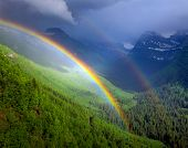 Glacier National Park After Rainstorm