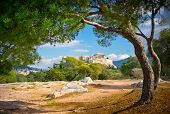 pic of akropolis  - Beautiful view of ancient Acropolis Athens Greece - JPG
