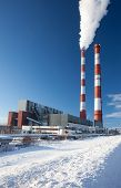 Power Station. Industrial Production.