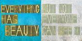Elemento de imagen y diseño de fondo terroso que representan las palabras