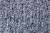 Fabric From Cotton, Jersey, Natural, A Close Up