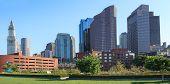 picture of prudential center  - Skyline of the financial district of Boston Massachusetts  - JPG