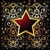 Golden Star Floral