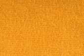 Orange Knitted Textile Wallpaper