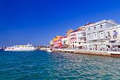 Agios Nikolaos city on Crete, Greece
