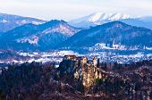 Lake Bled surrounding landscape