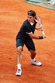 Roger Federer en Roland Garros 2008