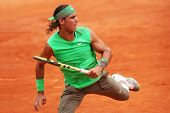 Spain's Rafael Nadal At Roland Garros