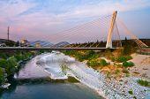 Maraca bridge. Podgorica. poster