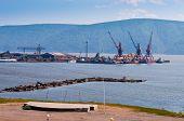 Nikolaevsk-na-Amure docks