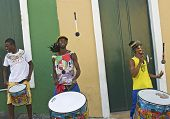 Brazilian Samba Performers
