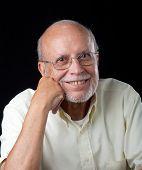 Portrait Of A Male Hispanic Senior Citizen