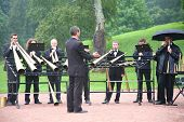 Brass Band In Park