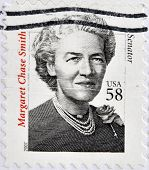 UNITED STATES OF AMERICA - CIRCA 2007: A stamp printed in USA shows Margaret Chase Smith senator