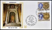 VATICAN CITY - CIRCA 1980: Stamp printed in Vatican shows Gian Lorenzo Bernini circa 1980