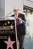 LOS ANGELES - NOV 4:  Clive Davis at the Janis Joplin Hollywood Walk of Fame Star Ceremony at Hollywood Blvd on November 4, 2013 in Los Angeles, CA