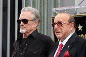 LOS ANGELES - NOV 4:  Kris Kristofferson, Clive Davis at the Janis Joplin Hollywood Walk of Fame Sta