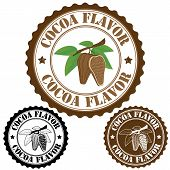 Cocoa Flavor Stamp