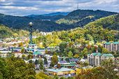 stock photo of gatlinburg  - Gatlinburg - JPG