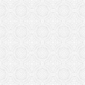 seanless vector geometric white pattern
