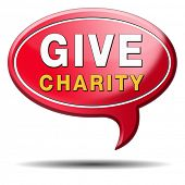 Give charity button donate raise money to help donate gifts fundraising give a generous donation or help with a fundraiser
